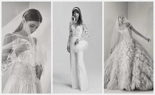 Свадебные тренды 2017: костюм вместо платья и винтажные мотивы