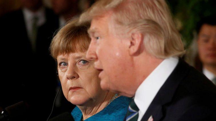 ТРАМП ВЫДВИНУЛ МЕРКЕЛЬ СЧЕТ В $ 375 МЛРД, КОТОРЫЕ БЕРЛИН «ЗАДОЛЖАЛ» НАТО