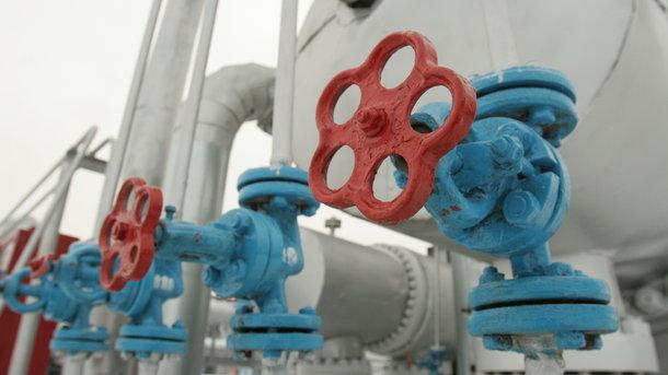 Украина копит газ в хранилищах