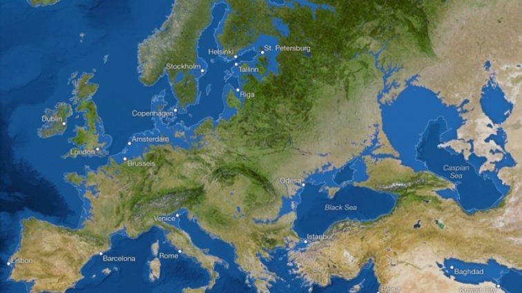 Как будет выглядеть карта мира после таяния ледников