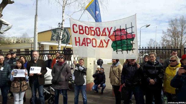 В Беларуси продолжаются протестные «марши тунеядцев»