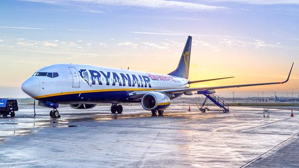 Ryanair изменил планы на рейсы из Львова