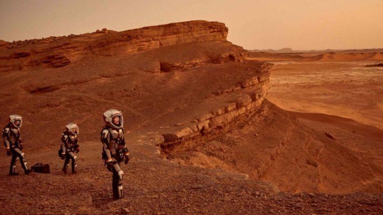 В атмосфере Красной планеты нашли неожиданный элемент