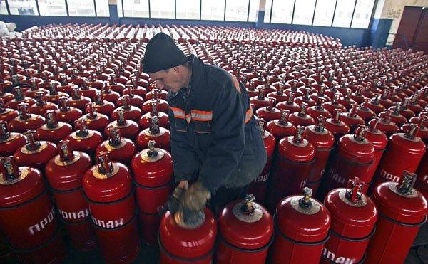 Россия приостановила поставки сжиженного газа
