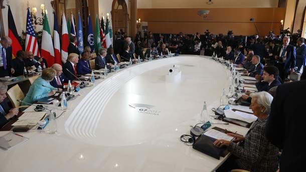 «Большая семерка» пригрозила России новыми санкциями: итоговая декларация саммита G7