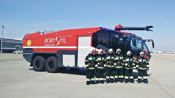 В Украине появилась необычная пожарная машина за один миллион евро