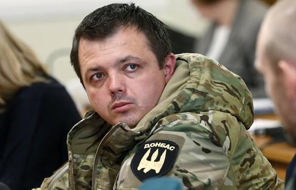 Семенченко анонсировал блокаду предприятий украинских олигархов