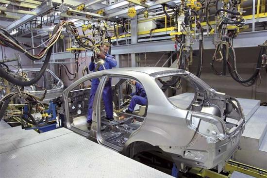В Украине резко приобретает мощности автопроизводство