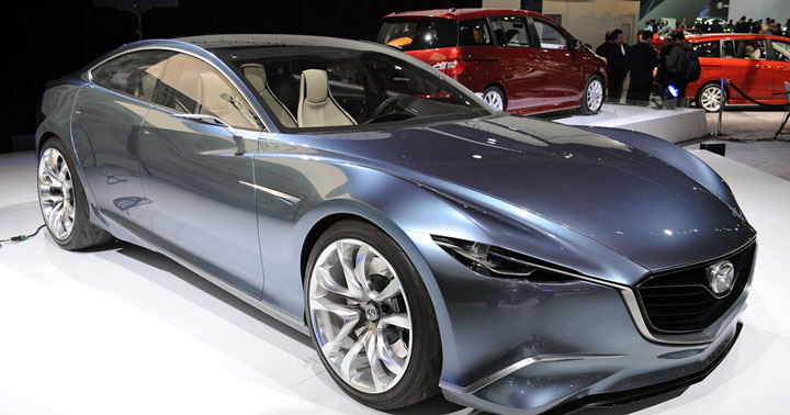 Новый роторный двигатель Mazda будет работать на водороде