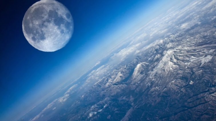На Луне заметили вход в таинственного туннеля