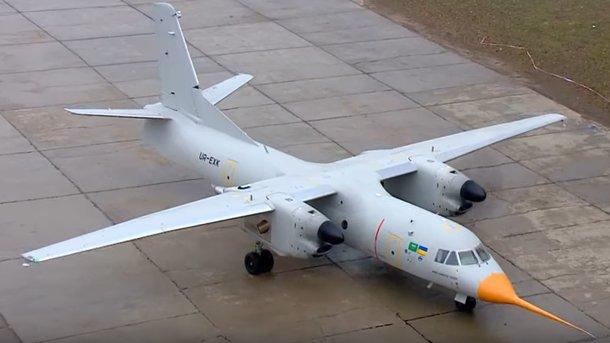 Новейший украинской самолет дебютирует на международном авиасалоне во Франции