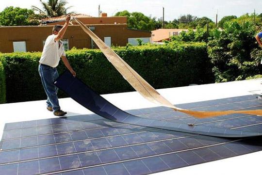 Создано чрезвычайно дешевые солнечные элементы