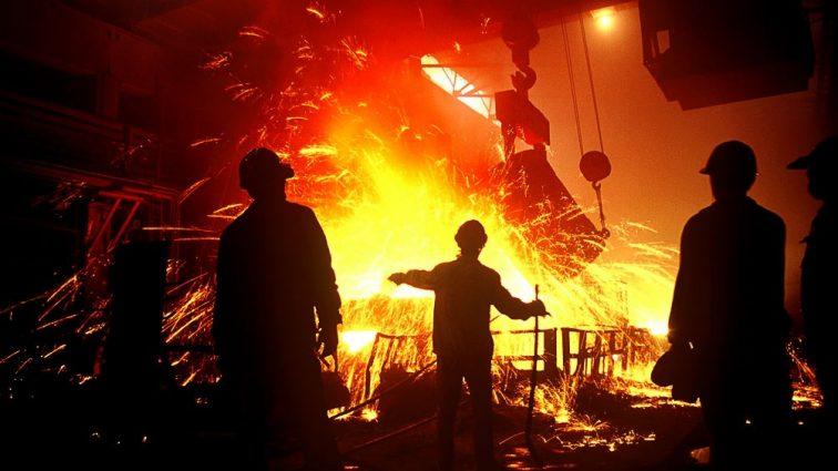 В Украине обвалилось производство стали