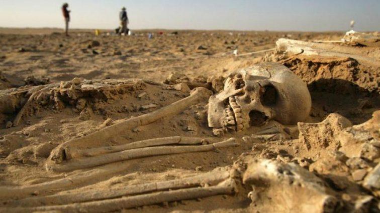 Детективы воссоздали сцену древнего убийства