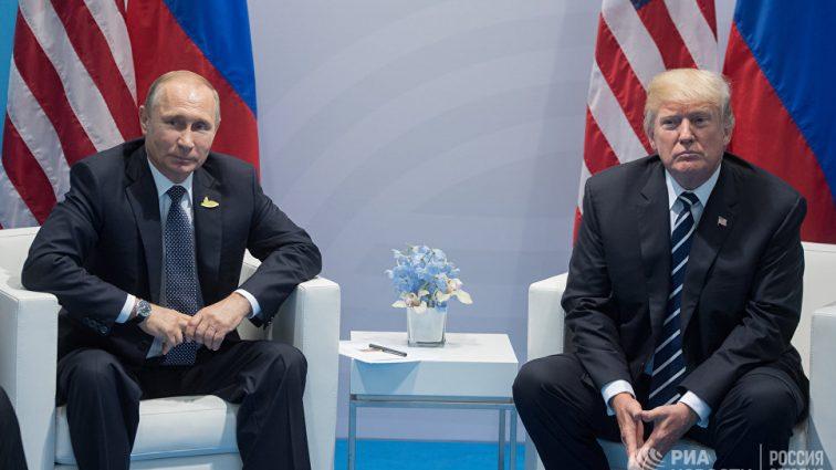 Путин признался, что обсуждал Украину с Трампом
