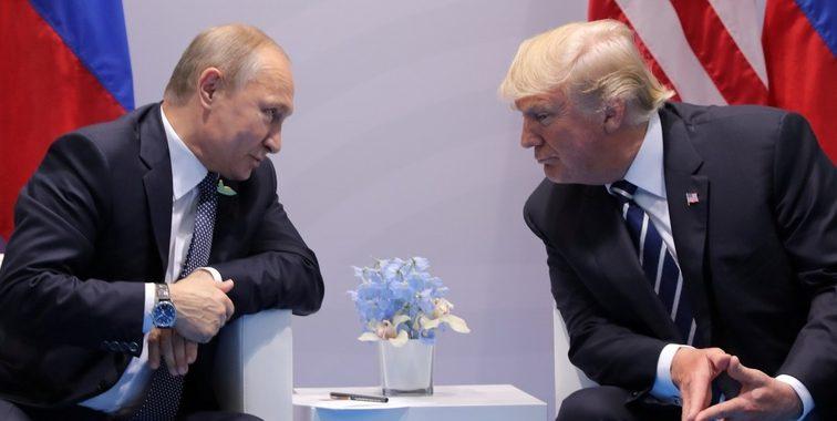 NYT раскрыла, из-за чего Путин и Трамп ссорились 40 минут