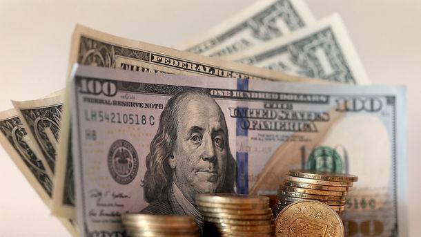 Курс наличного доллара опустился Гривна берет свое