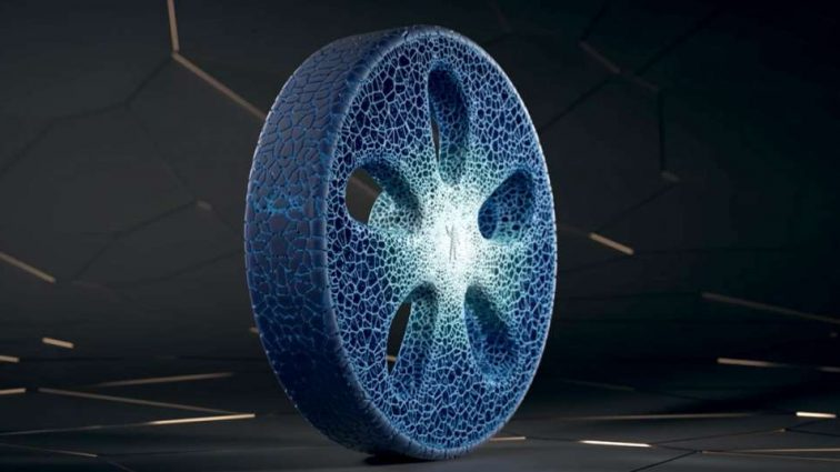 В Michelin показали, как выглядят «вечные» шины (видео)