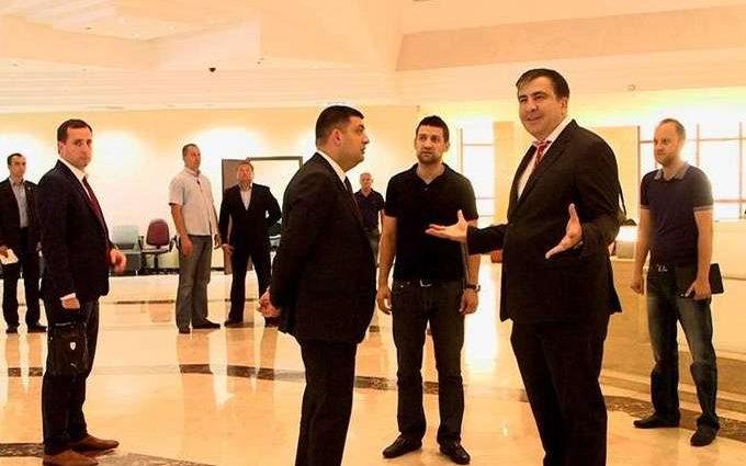 Как Саакашвили сделал Гройсмана премьер-министром