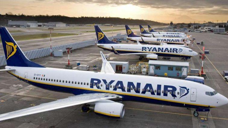Ryanair прекратил продажу билетов в Украину