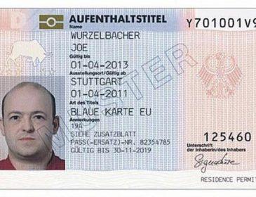 В Германии «голубые карты» получили уже почти две тысячи украинцев