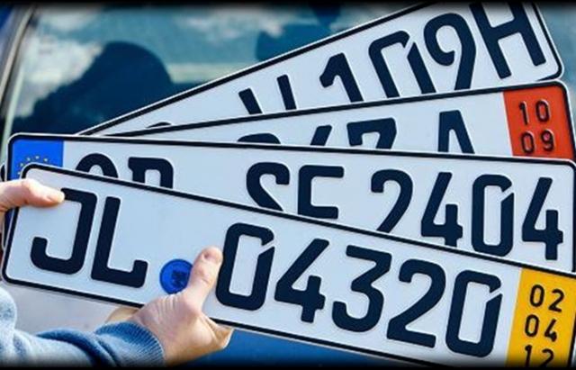 В ДФС анонсируют еще более жесткие штрафы к нарушителям на авто с иностранными номерами