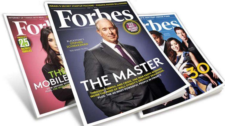 Пятеро лучших: лидеры глобального списка Forbes за последние 30 лет
