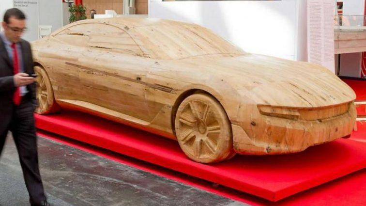 Японские ученые создадут автомобиль из дерева