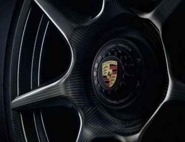 Porsche заново создала колесо