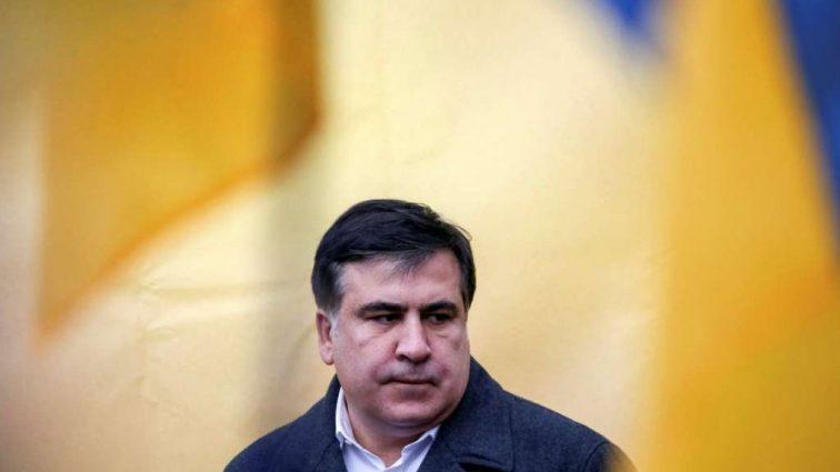 «УЗ» запретила «Интерсити» отправляться из Перемышля, пока Саакашвили не сойдет с поезда