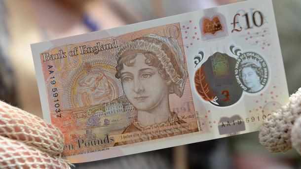 В Британии выпустили банкноту с портретом Джейн Остин