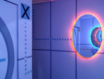 Комната в стиле любимой игры сына — Portal