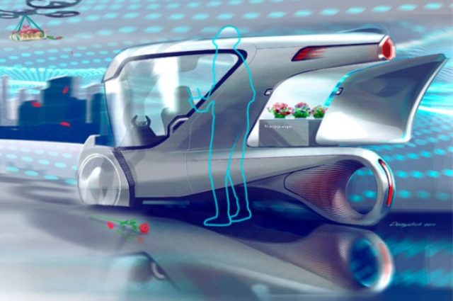 Украинец создал концепт электрокара без аккумулятора