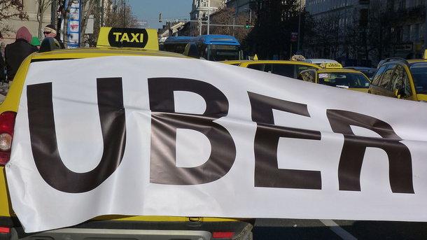В Чехии разгорелись протесты из-за Uber