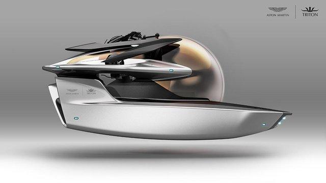 Aston Martin выпустит подводную субмарину