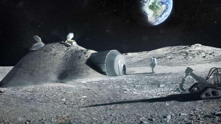 Вскоре на Луну отправят надувной жилой модуль