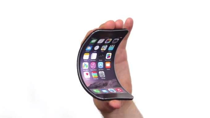 Apple разрабатывает гнущийся iPhone