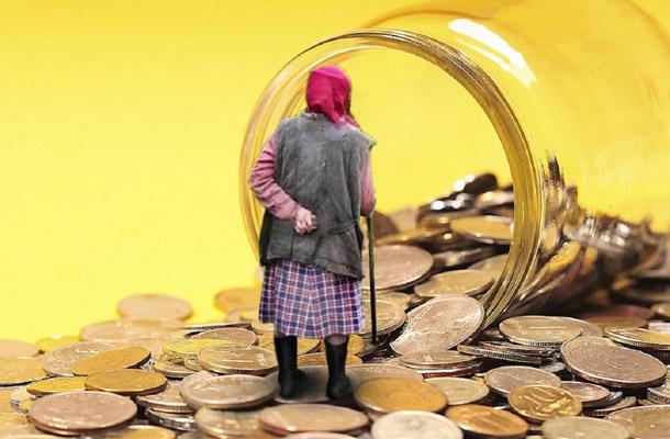 Украинская пенсия доводит людей к психологической гибели