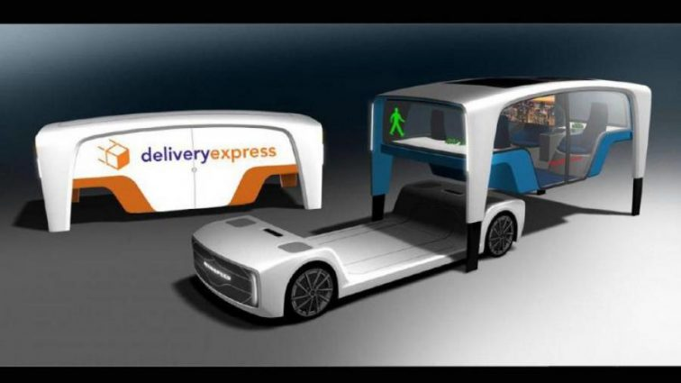 Rinspeed представила авто со съемным кузовом