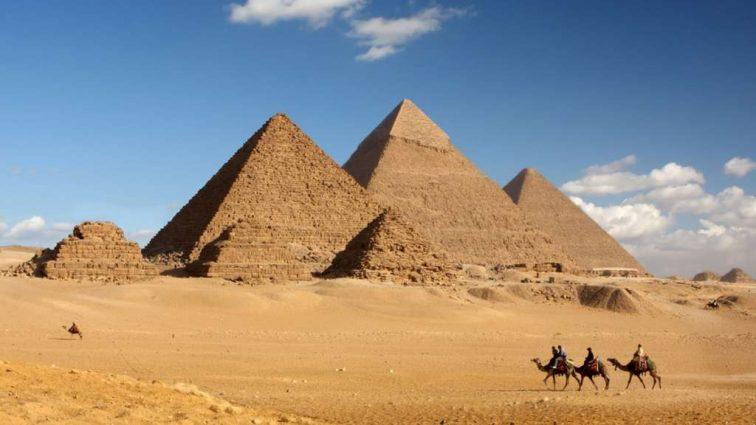 Золотую верхушку одной из последних египетских пирамид обнаружили археологи