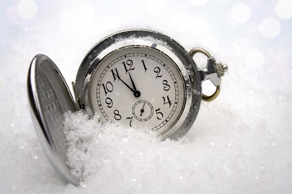 Переход на зимнее время уже в это воскресенье