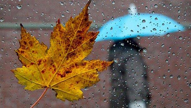 Дождливо почти по всей территории страны