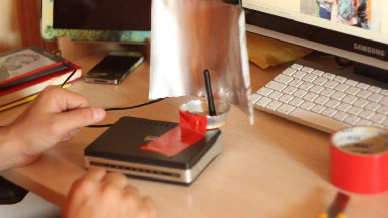Интересная идея как усилить работу домашнего Wi-Fi