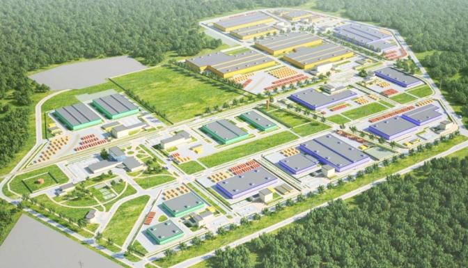 Киев реанимирует идею индустриального парка на Троещине