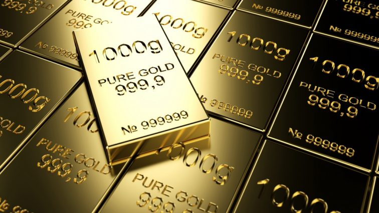 Цена на банковское золото выросла