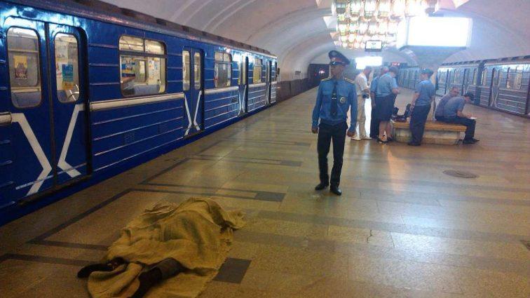 В Киеве посреди улицы мужчина упал и умер