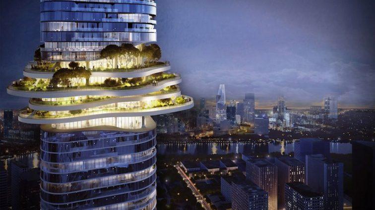 Во Вьетнаме построят 333-метровый небоскреб: дизайн поражает