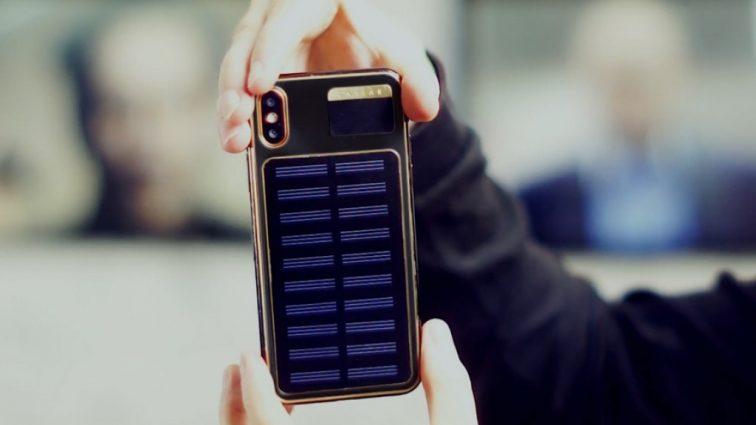 Появился iPhone X Tesla — со встроенной солнечной батареей
