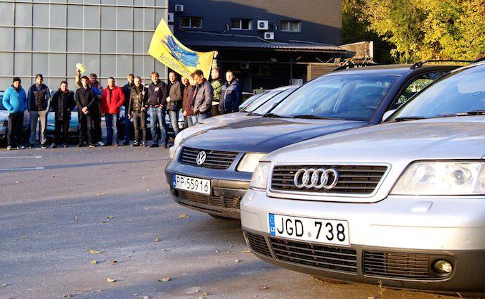 Более 236 тысяч авто на «бляхах» в Украине – незаконно – ГФС