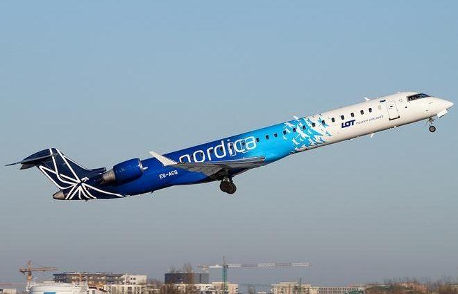 Эстонская Nordicа планирует летать в Ивано-Франковск